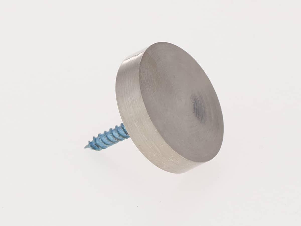 Хромированный декоративный колпачок на саморез Ø 25 мм