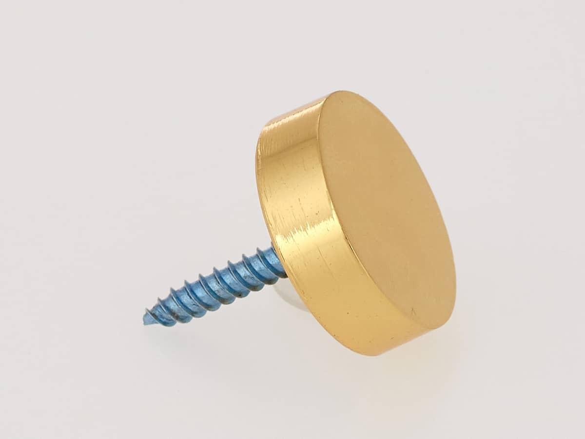 Декоративный колпачок для саморезов, золото