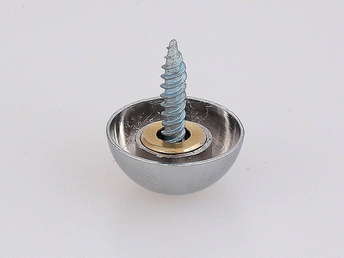 Сферическая декоративная заглушка на саморез Ø 20-25 мм