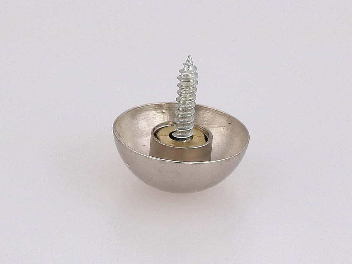 Декоративная заглушка на дюбель гвоздь, металл