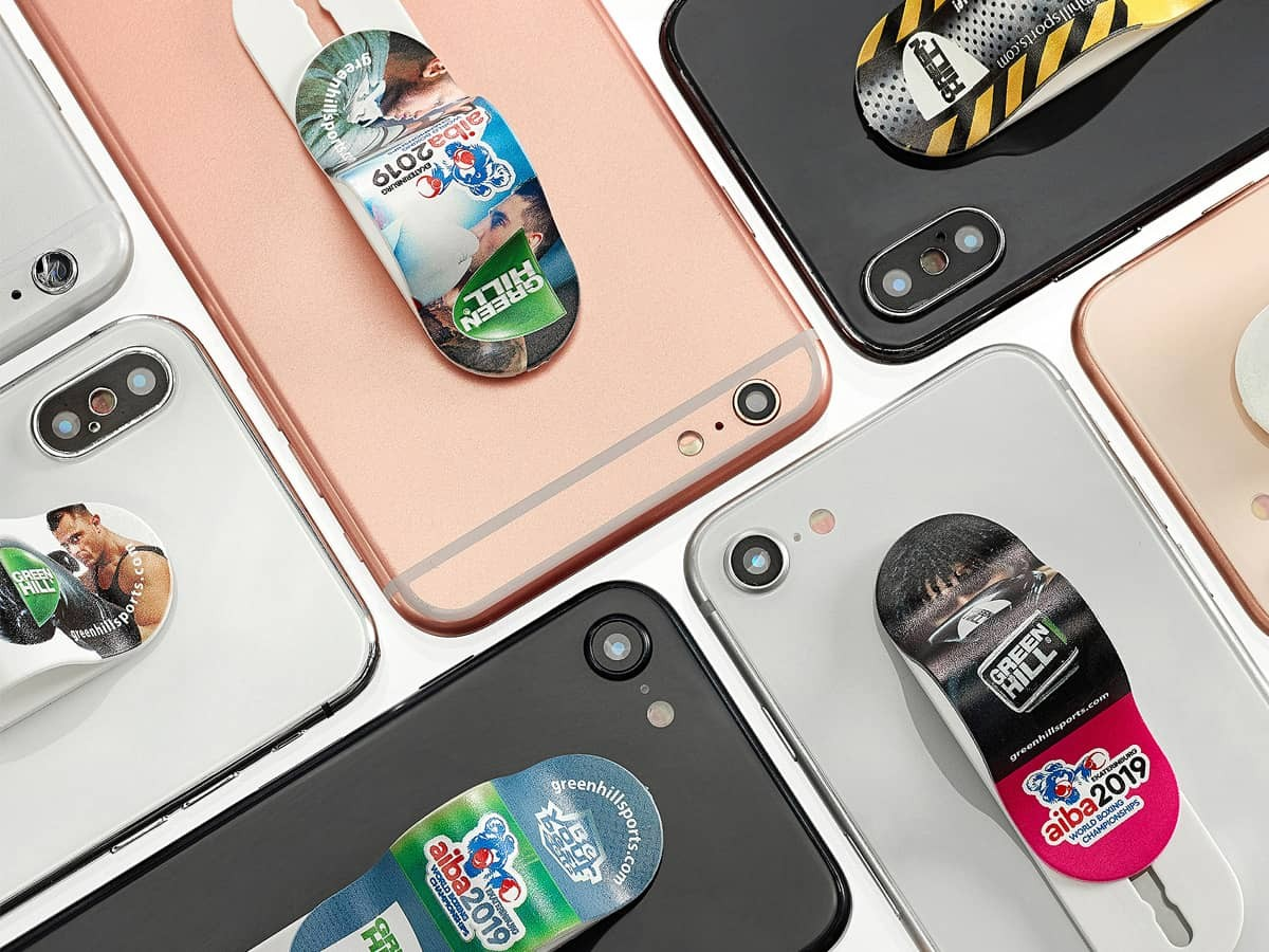 Сувенирные держатели для смартфонов