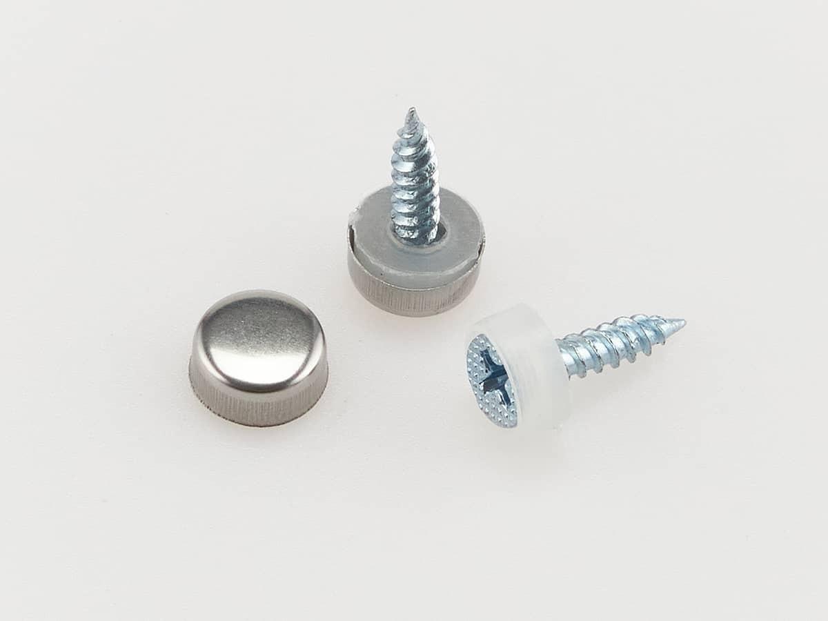 Маленькие декоративные колпачки для саморезов 10 мм