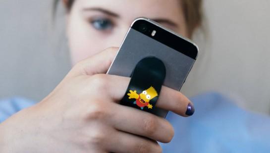 Настраиваемый гибкий держатель для смартфона на руку
