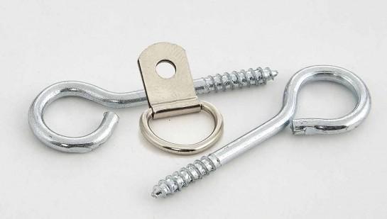 Крепежные кольца и проушины